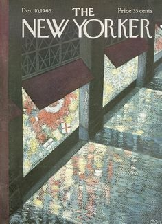 The New Yorker cover: Dec. 10, 1966, by Charles E. Martin