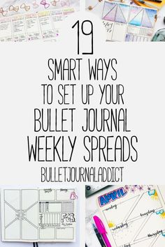 Bullet Journal Weekly Spreads - Weekly Layouts for Bullet Journals - 19 Smart Ways To Set Up Your Bullet Journal […] Bullet Journal Index, Bullet Journal For Beginners, Bullet Journal Monthly Spread, Bullet Journal 2019, Bullet Journal Tracker, Bullet Journal Printables, Bullet Journal How To Start A, Bullet Journal Ideas Pages, Bullet Journal Layout
