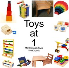 Toys at 1 recommendations - Montessori Life As We Know It