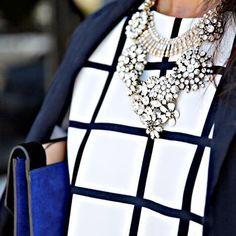 black&white&blue my fav mix!