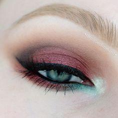 Makeup Geek Eye Shadows in Beaches and Cream, Burlesque, Corrupt, Latte, Mocha, Peach Smoothie, Sea Mist