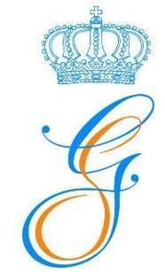 The Wedding Monogram of Prince Guillaume and Princess Stephanie
