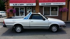 159,480mi  1986 Subaru Brat GL Standard Cab Pickup 2-Door 1.8L Ended: Aug 04, 2015 , 5:55PM Winning bid:US $7,600.00 [ 38 bids ]