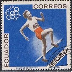 1968 Mexico City Olympics, Running, Issued in 1967