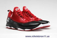 top fashion 98806 29ae5 New Jordan CP3.VI AE 580580-601 Gym Red White-Black