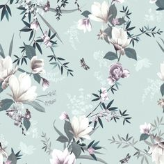 Brand new from Lipsy London comes this beautiful floral wallpaper Featuring a classy lotus floral trail on a duck egg background. Elegant and delicate this wallpaper will add serenity to your room #wallpaperdepot #wallpaper #interior #interiordecor #interiordesign #diy #renovation #walldecor #wallart #bedroom #livingroom #kitchen #bathroom #home #homedecor #floral #floral #lipsy #lipsylondon