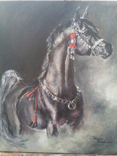 Oleo sobre lienzo 61X50cm. Tamara Rosado.