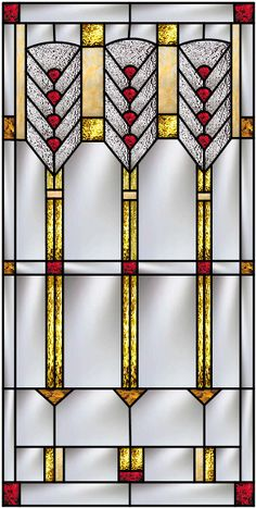 Prairie School Stained Glass  A Custom Collection inspired by Frank Lloyd Wright by Pompei  co