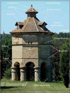 pigeonniers   Les Pigeonniers description architecture pigeonnier - Chambre d'hôtes écologique de charme dans le Tarn près d'Albi - Brin de Cocagne