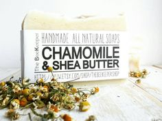 Chamomile and Shea Baby Soap. Creamy, soothing and nourishing. Perfect for a baby's sensitive skin!