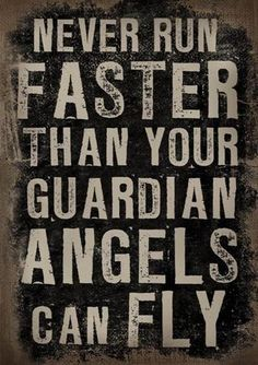 my daughters gave a print out of this on an angel to all the familie members that drive, for christmas one year.