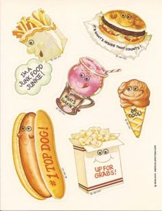 Scratch N' Sniff stickers....loved these!!