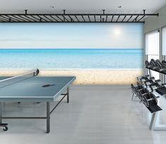 3d Wallpaper Beach, Home Wallpaper, 3d Home, Beach Waves, Wall Prints, Wall Murals, Indoor, Purpose, Deco