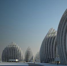 Putrajaya Waterfront Residential Towers #architecture ☮k☮