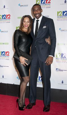 AMARE STOUDEMIRE & ALEXIS WELCH