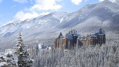 The 125 year old Banff Springs Hotel in Canada. 9habd7Q.jpg (2340×1335)