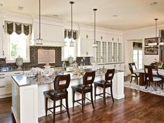 HGTV.com has inspirational pictures, ideas and expert tips on kitchen bar stool and chair options for comfortable places to seat your guests.