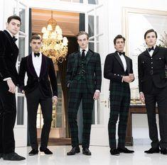 Highlands meet ultimate evening wear. Ralph Lauren