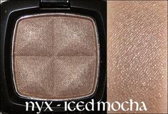 NYX Iced Mocha (MAC Satin Taupe dupe)