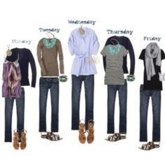 How to pack for a week- if only I could do that however i over pack