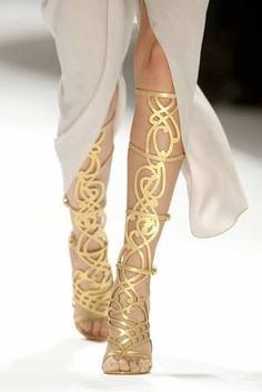 Greek goddess sandals