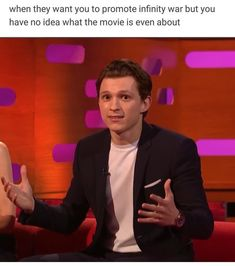 I watched this and was dying!!!!! Tom was just like 'I don't know Graham' whenever he was asked a question
