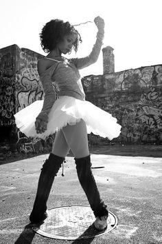 i love black ballerinas <3