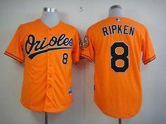 6c8f3afa1f9 Orioles  8 Cal Ripken Orange Cool Base Stitched MLB Jersey Cheap Nba Jerseys
