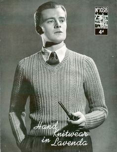 men fashion 1930 sweater - Buscar con Google