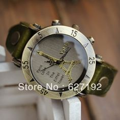 Lovers Fashion Watches Cowhide Mens Watch male Watch Ladies Watch vintage Watch Girls Watch $10.50