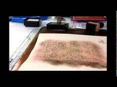 Resist Embossing Using Tim Holtz Distress Ink