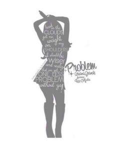 Problem by Ariana Grande ft. Ariana Grande Quotes, Ariana Grande Lyrics, Ariana Grande Pictures, Music Is My Escape, Music Is Life, Oblyvian Girls, Ariana Grande Problem, Bae, Iggy Azalea