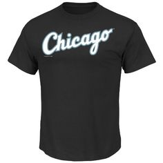 MLB Chicago White Sox Men's Short Sleeve Crew Neck Tee, Black, Large  http://allstarsportsfan.com/product/mlb-mens-short-sleeve-basic-logo-crew-neck-t-shirt/?attribute_pa_teamname=chicago-white-sox&attribute_pa_size=large  Hit a style home run in the stylish Watermark basic Cotton Tee; Comfortable Short sleeve ,Crew Neck, screen print Tee proudly shows off your favorite MLB team Screen print decoration MLB SHORT SLEEVE CREW NECK TEE CHICAGO WHITE SOX