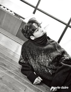 Misaeng's Byun Yo Han's Fun Black & White Shoot For Marie Claire Korea (UPDATED)   Couch Kimchi