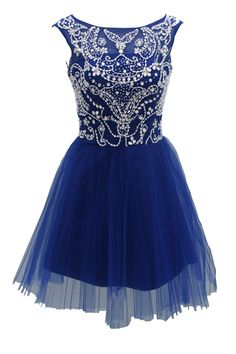 royal blue homecoming dresses short