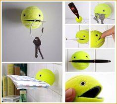 tennis ball diy