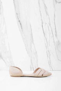 Pam Pointed Toe Flats at Tobi.com #shoptobi