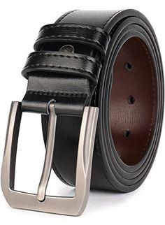 "Black Brown Men/'s Braided Genuine Leather Casual Jean Belt 1-1//2/"" Wide"