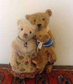Artist Teddy Bear By Smiley Bears Artist