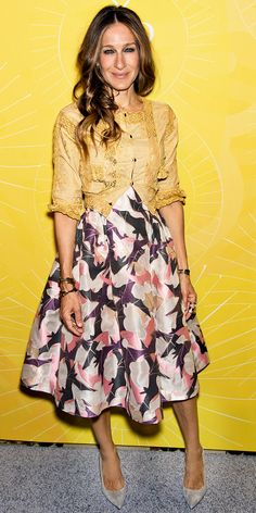 Sarah Jessica Parker's ladylike look is perfection