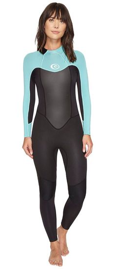 Rip Curl Omega 3/2 Full Suit (Turquoise) Women's Wetsuits One Piece - Rip Curl, Omega 3/2 Full Suit, WSM4KW-449, Apparel One Piece Wetsuits, Wetsuits, One Piece, Apparel, Clothes Clothing, Gift, - Street Fashion And Style Ideas