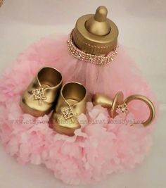 Royal Centerpiece Pink and Gold Pink and by InspirationsByAlex