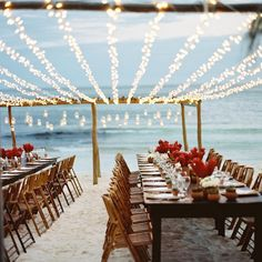 Because strung up lights are good for the soul...and a wedding reception. by @tecpetaja as seen in our September issue.