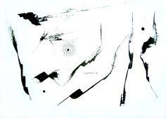 DANZA IV. Tinta china sobre papel, 2010. Adriana Lugones