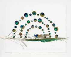 Feather Art | Chris Maynard turns moulted feathers into works of art using eye surgery scissors, forceps and a magnifying glass. All feathers used are legal to both use and sell.