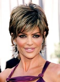 Short Shag Hairstyles for Women Over 50 | short haircuts for women over 60 with fine hair