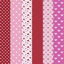 Free Valentine Printable Scrapbook Papers