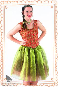Kleid/Petticoat/Dirndl aus Jacquardstoff und Samtstoff  #acufactum #naehen #petticoat #dirndl #kleid #stoff #sew #cloth #dress #samt #cotton
