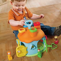 Cotoons Shape Sorter Toy House