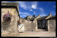 Stables in Middleham, North Yorkshire, England